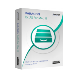 Paragon ExtFS for Mac