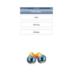 Kidlogger для iOS