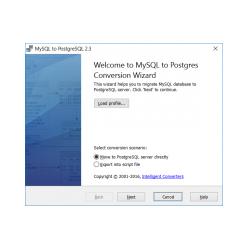 MySQL-to-Postgres
