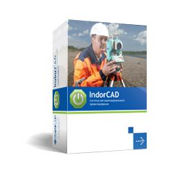 IndorCAD/Topo: Система подготовки топографических планов