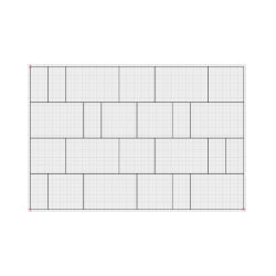 Designer of paving slabs