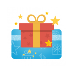 Electronic gift certificate for buying software in Allsoft
