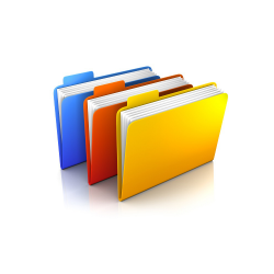 Library of documents for business process management