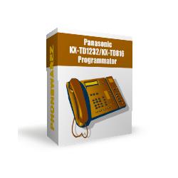 Panasonic KX-TD1232 / KX-TD816 PBX programming device