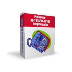 Panasonic KX-T336 / KX-TD500 programming device v.1
