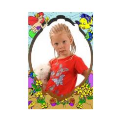 Шаблоны детских открыток