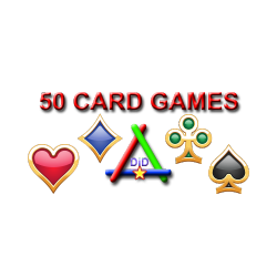 Package of 50 card games