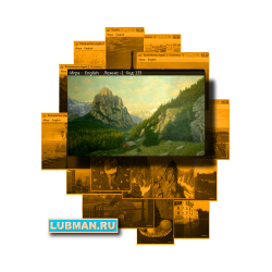 """Caucasus"" Puzzle №013, series: ""Art will save the World!"""
