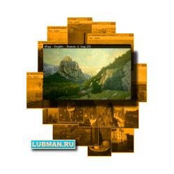"""Caucasus"" Puzzle №013, series: ""Art will save the World!"""