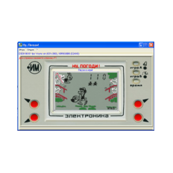 """Well, Wait!"" - an emulator of electronic games"